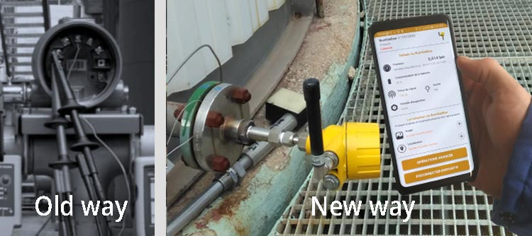 appareils de mesure pour puits de pétrole. application Bumblebee