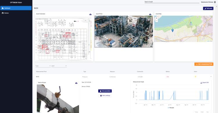 interface application Optimum Vision